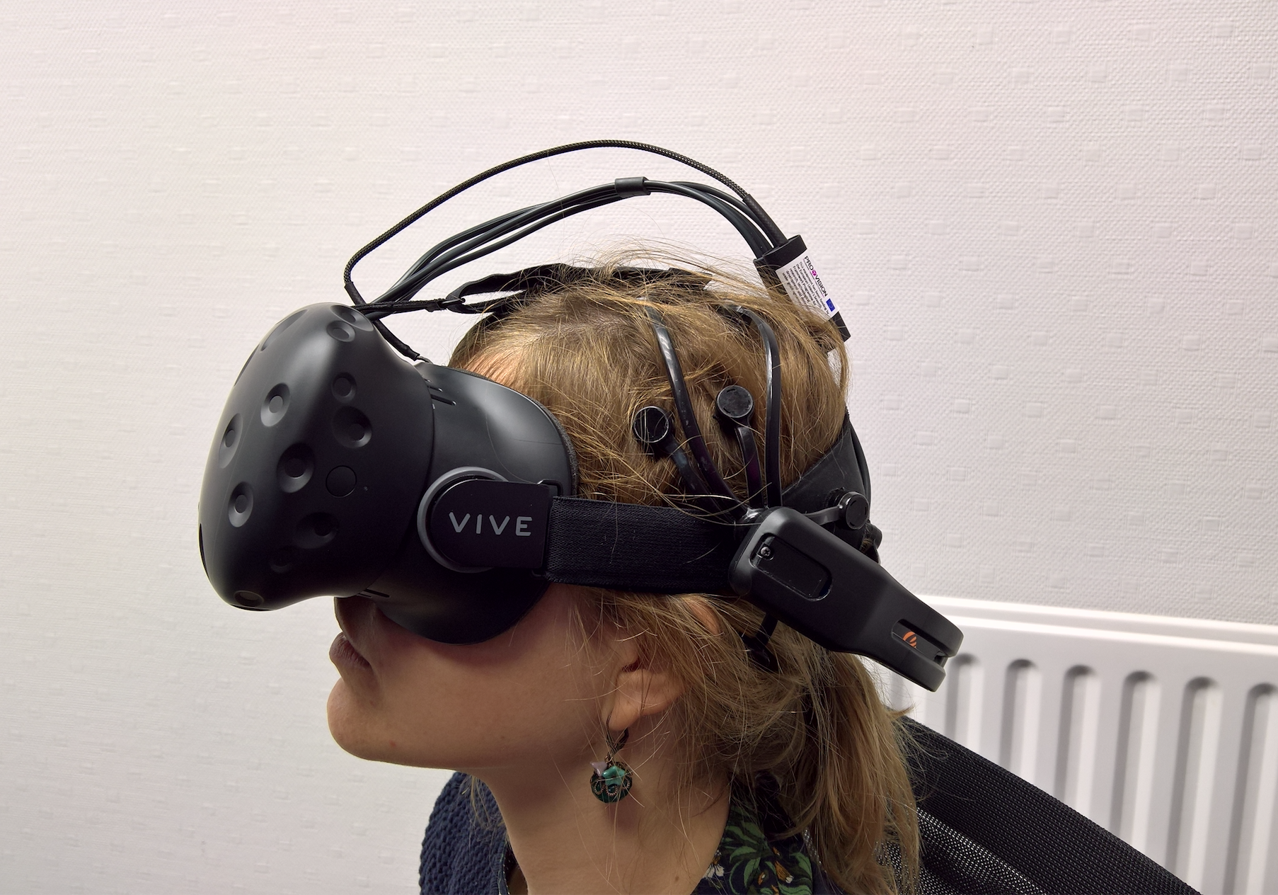 Dispositif Virtual Reality + EEG