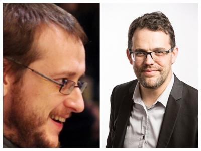 Patrick Le Callet et Frédéric Degouzon
