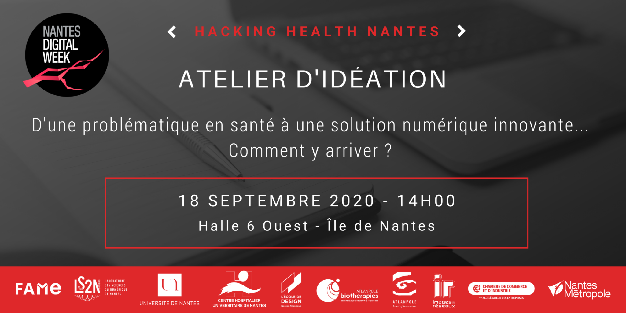 Atelier d'idéation Hacking Health
