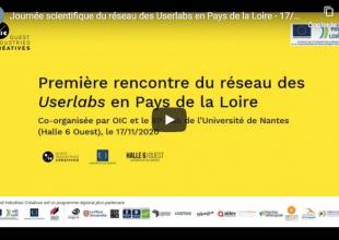1ère rencontre du réseau des Userlabs des Pays de la Loire 17/11/2020 - restitution